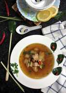 resep masakan chicken soup