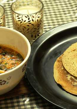Super Fast Wheat Dosa -Why go through the chapati making procedure?