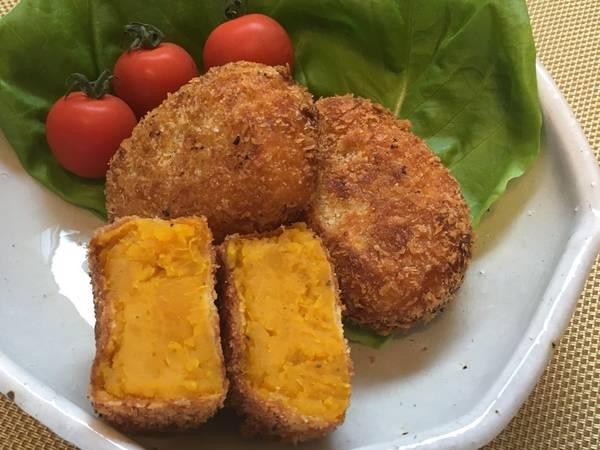 Japanese Kabocha Pumpkin Croquette