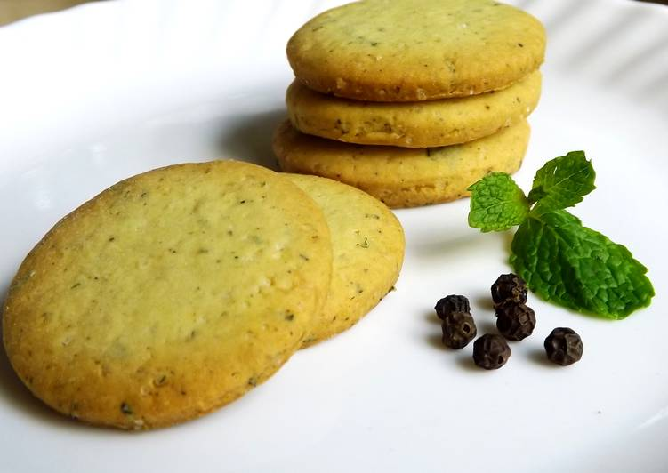 Mint Pepper Cookies