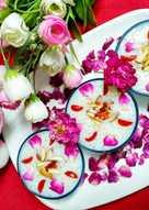 # Sabudana ki kheer with mewa n some dry fruits n Cherry's