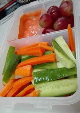 🥕 and cucumber dip