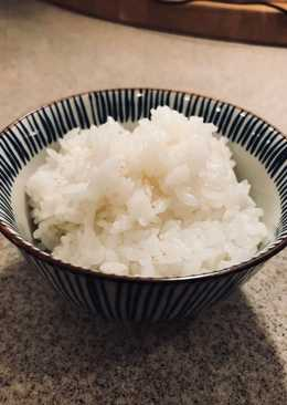 Cooking Japanese rice with a pressure cook