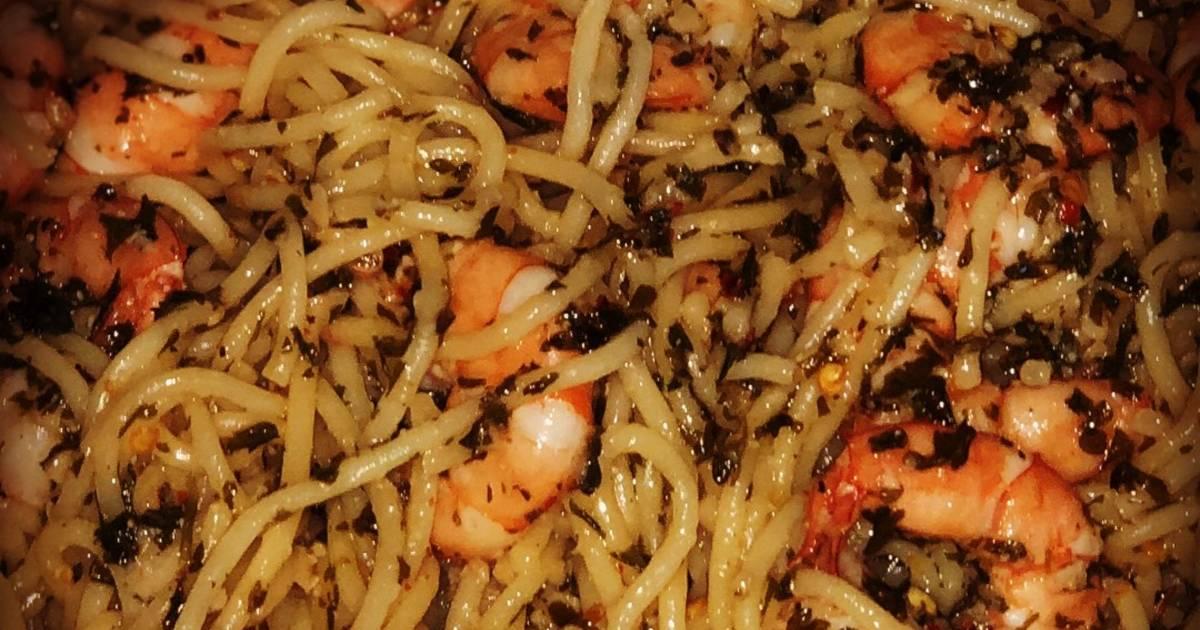 Shrimp scampi 2 recipes - 10 recipes