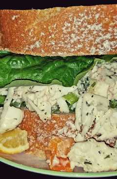 resep masakan mikes chilly king crab lump meat salad sandwiches