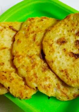 Mini Besan pancakes