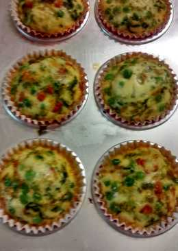 Healthy Vegetable cupcakes