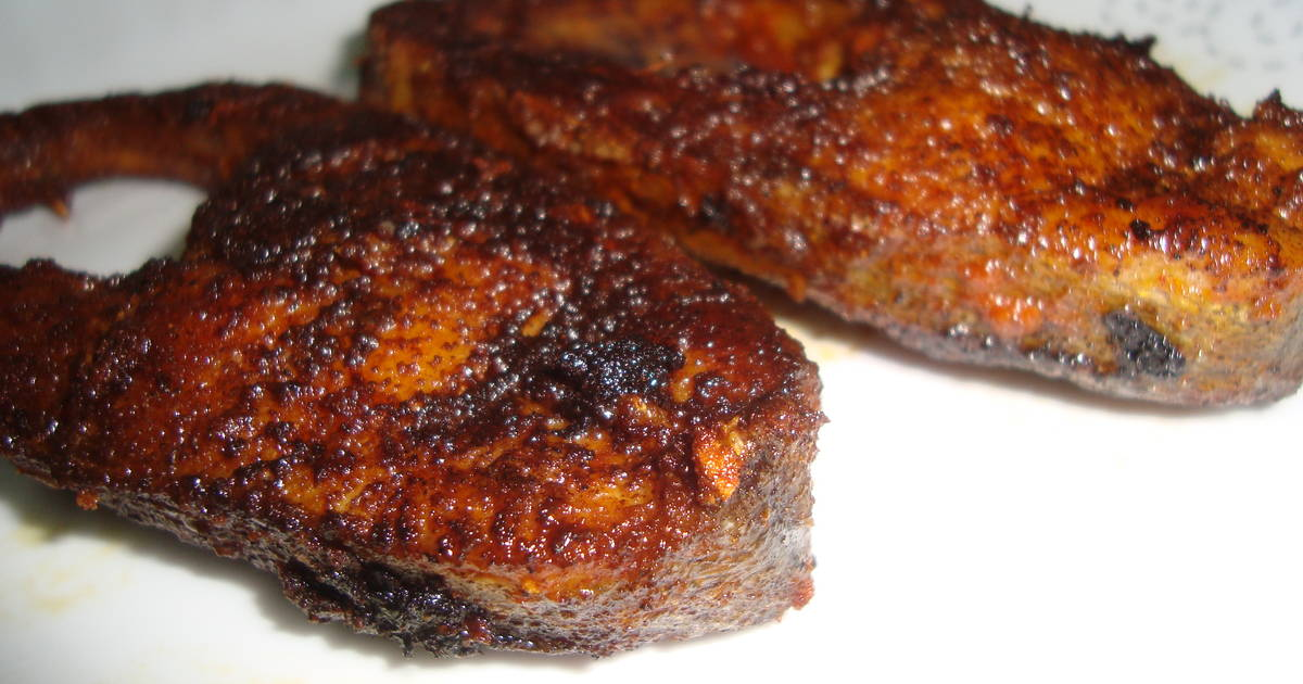 Fish fry malabar style recipe by faseela k cookpad for What goes good with fried fish