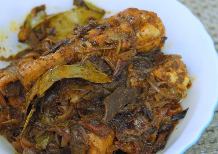 Chicken Roast (semi dry)