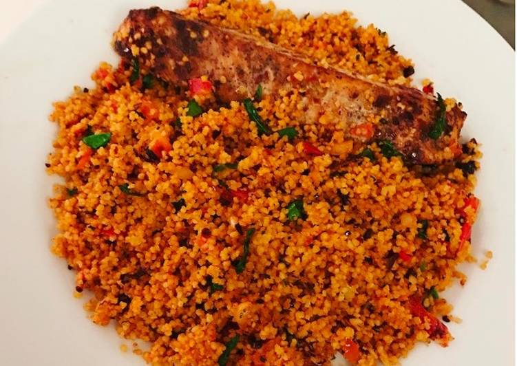 Image result for Jollof Couscous