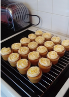 Golden syrup cupcakes