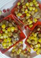 Boil Chane and Sweet Corn Chat