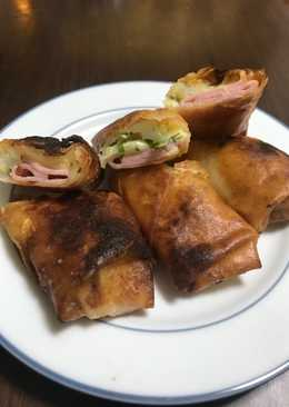 Ham Chinese spring roll