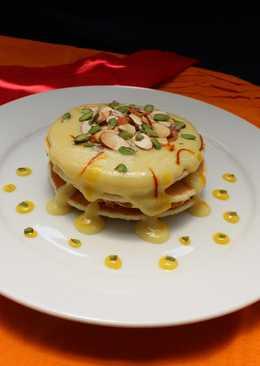 Mawa Rabdi Pancakes (Gluten free)