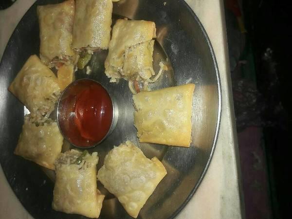 Crispy papadh roll