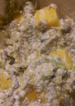 Avocado mango overnight oats