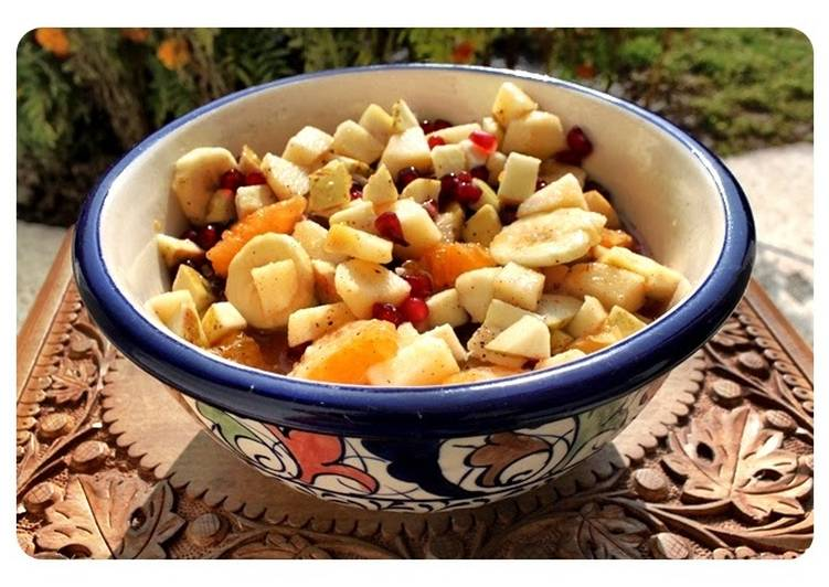 Fruit Chaat - Pakistani Fruit Salad