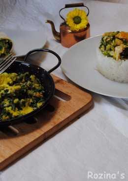 Persian sour herbs stew (Torshi tareh)