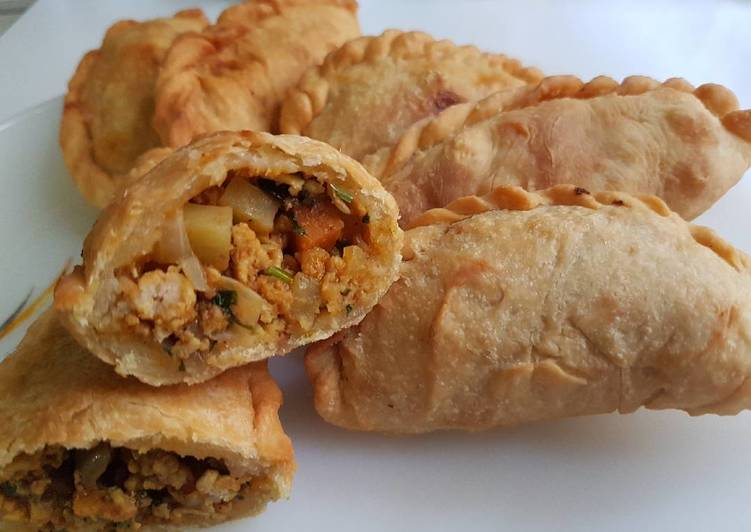 how to cook curry puff filling