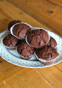 Dark chocolate and beetroot muffins 🍫