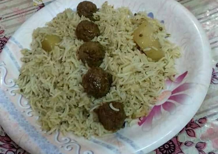 Moti Pulao #CookpadApp Recipe by Hina Ibrahim - Cookpad