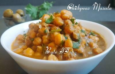 Chickpeas masala