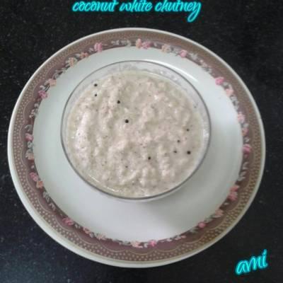 Coconut white chutney