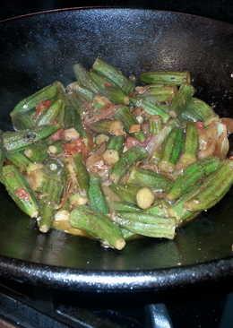 Spicy okra