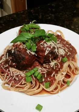 Brad's spaghetti and meatballs