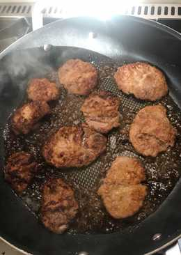 Pork tenderloin steak and Marsala