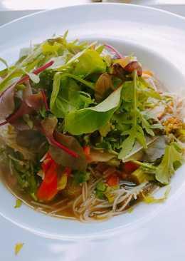 Healthy Vegetable & Tofu Ramen 🍜