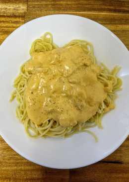 Spaghetti with Creamy Chicken
