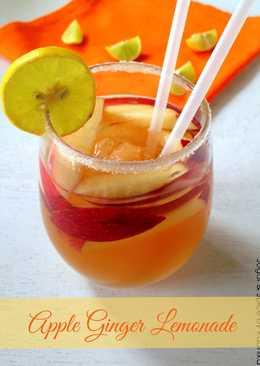 Apple Ginger Lemonade