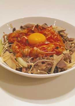 Japanese Style! Kimchi Gyudon!!