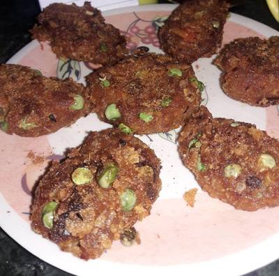 Carrot cutlets