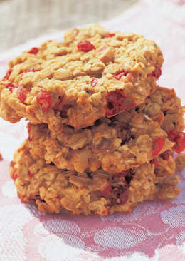 Orange Cranberry Mini Pig Cookies