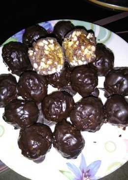 Date dray fruit chocolate ball