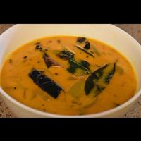 Raw mango curry in Coconut milk