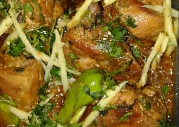 Special Chicken Karahi #CookingSpecial Recipe by MrsSajjad