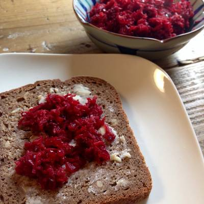 Beetroot and Carrot Jam/Spread