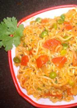Masala noodles (Maggie)