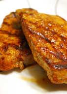 Seasoned Pork Chops on the Grill