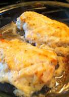 Parmesan Garlic Chicken Bake