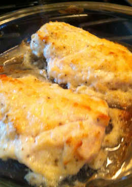 Parmesan Garlic Chicken Bake