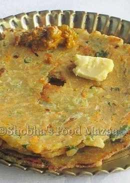 Mixed vegetable akki roti
