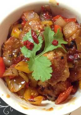 Sweet Sour chicken (Japanese style)