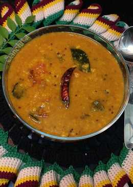 Andhra Style Tomato dal/Tomato Pappu