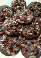 Vickys Chocolate Bark Buttons, Gluten, Dairy, Egg, Soy & Nut-Free