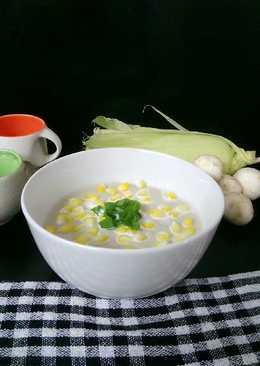 Creamy Mushroom Corn Soup