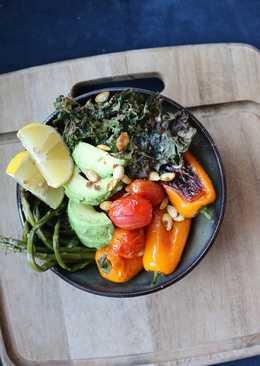 Roasted Veggies Buddha Bowl